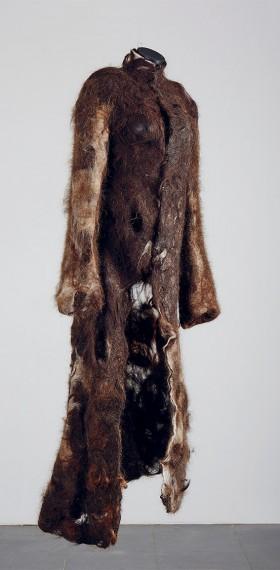 peau, cheveux feutre harpie